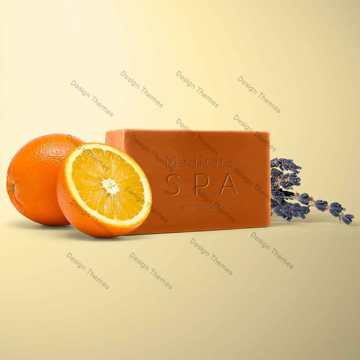 orange extract soap